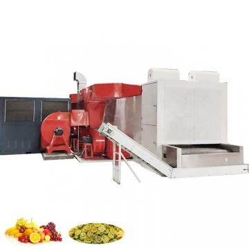 Industrial Conveyor Tunnel Belt Spices Garlic Microwave Machine
